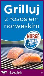Grilluj z łososiem norweskim!