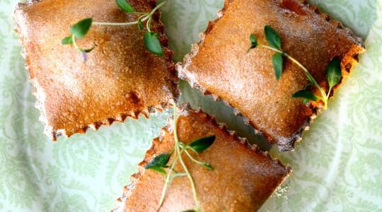 ravioli z mąki amarantusowej