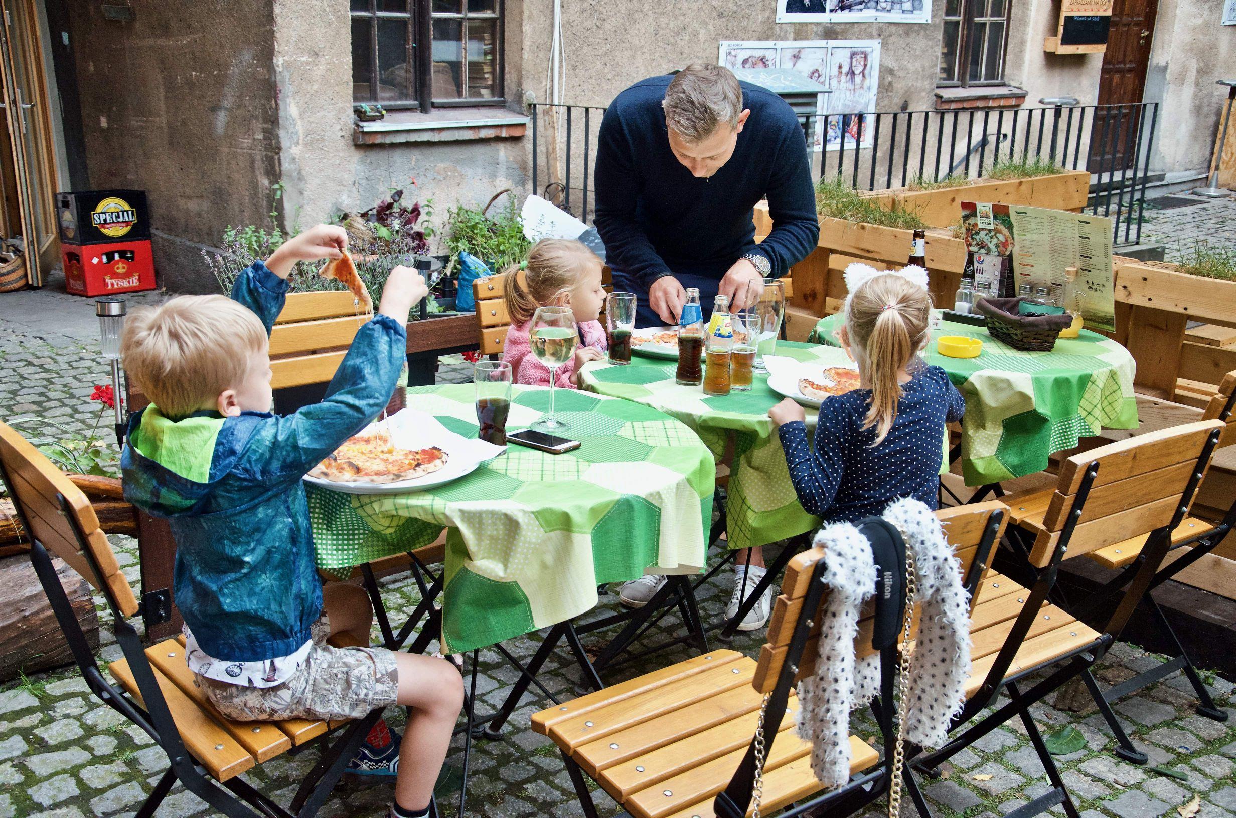 Toruń z dziećmi